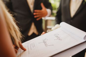 Cronograma de la planeación de boda: 8 tips para llevar todo en orden