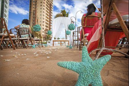 Estrellas de mar para la decoración de su boda