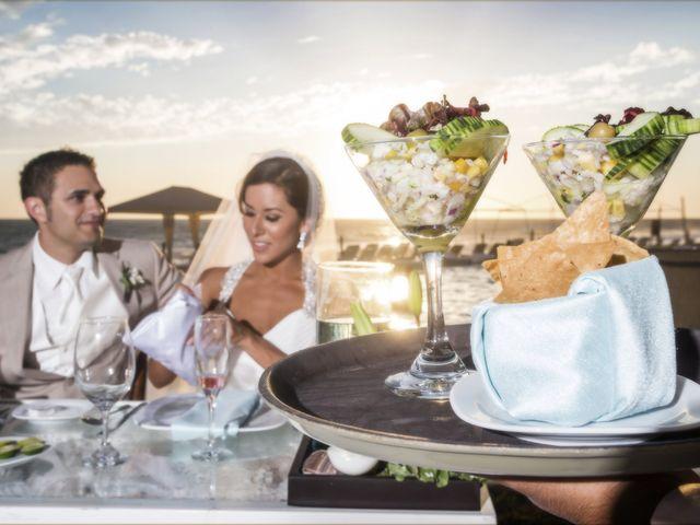Menús para bodas en la playa