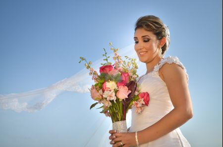 65 increíbles ramos de novia naturales