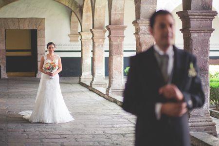 ¿Da mala suerte ver a la novia antes de la boda?