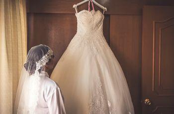 ¿Elegirías dos vestidos para tu boda? Una buena opción para tu gran día