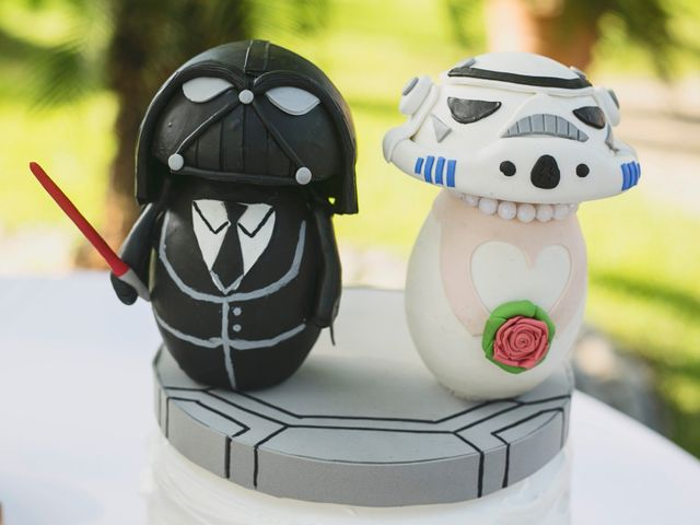 9 (y más) ideas para una boda 'Star Wars'... que la fuerza los acompañe
