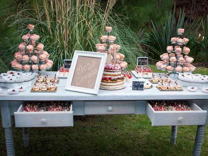 70 mesas de dulces para boda... para comer con los ojos