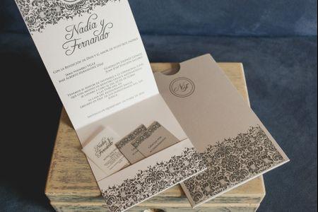 Invitaciones de boda de estética DIY: materiales que pueden integrar