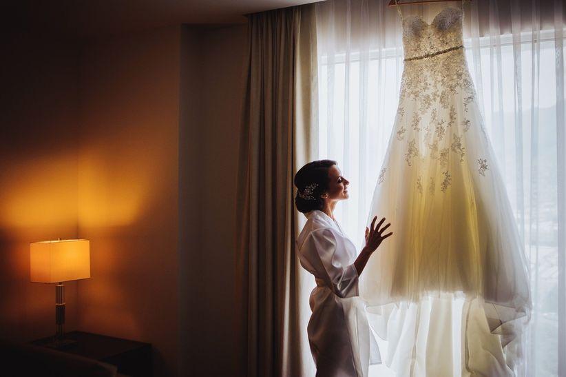 Tenir mi vestido de novia