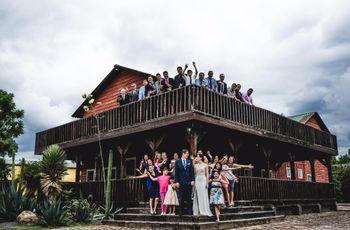 10 ideas para las fotos con los invitados de la boda