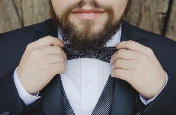 ¿Moño o corbata para el novio?