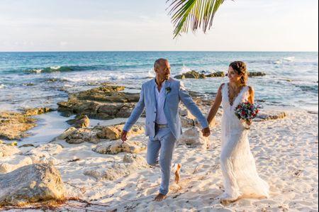 Los zapatos ideales para una boda en la playa