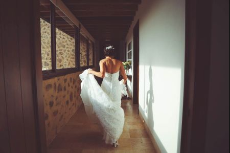 Ideas para la foto de tu vestido de novia