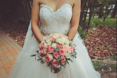 90 ramos de novia naturales, el jardín en tus manos