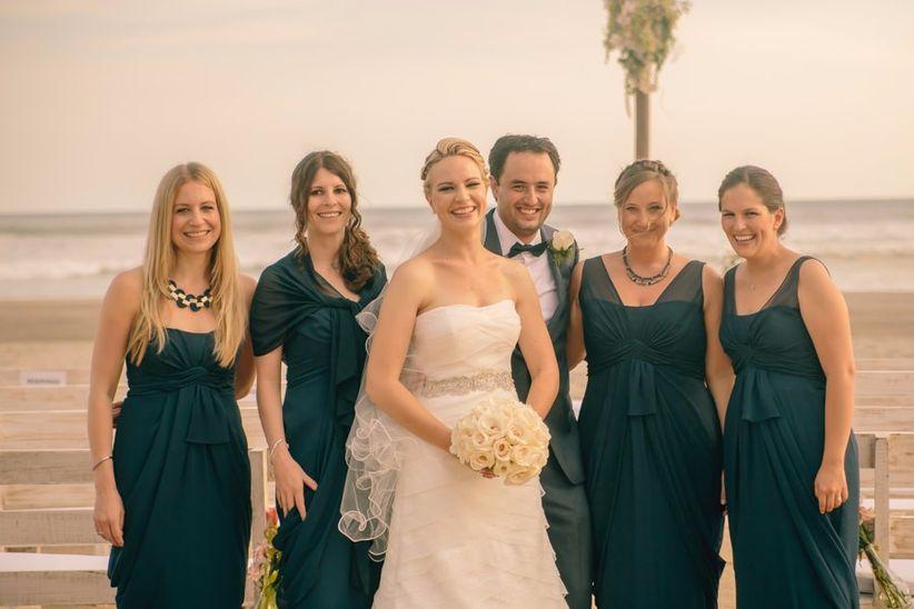 Vestidos damas boda de oro