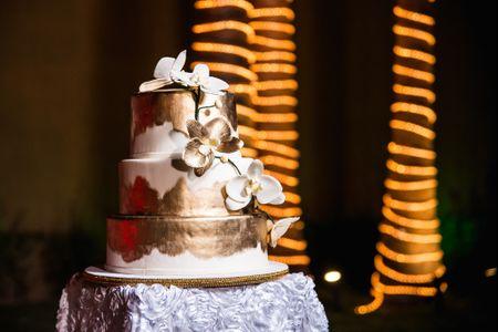 35 pasteles de fondant para boda: ¡hora de los postres!
