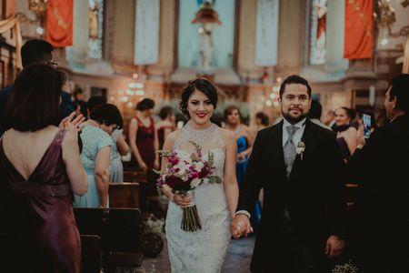 La boda de Héctor y Esmeralda: son el uno para el otro