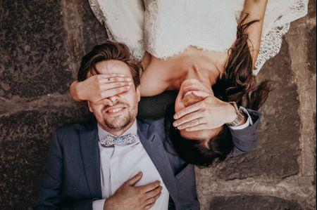 5 razones para tener una sesión de fotos first look antes de la boda