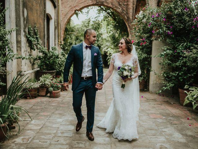 De las redes sociales al altar: la boda de Carlo y Andrea