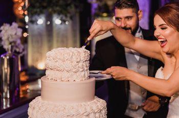 Cómo partir y degustar el pastel: así lo hicieron estas 40 parejas