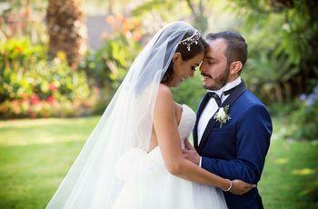 ¿Qué hacer en las fotos cuando la novia es más alta que el novio?
