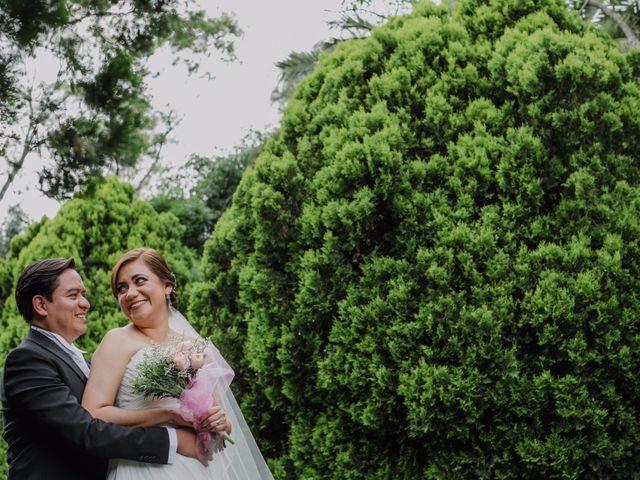 """La boda de Erika y Eric: un primer """"sí"""" en el cielo de Nueva York"""
