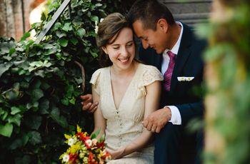 La boda de Alam y Marie-Elyse: sencillamente perfecta