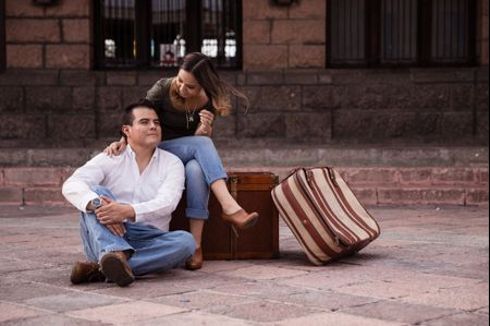 La boda de Paco y Pau: el mejor sello para su pasaporte