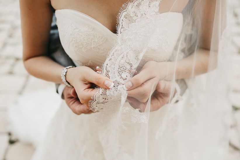 75eb9ec476 12 tipos de velos de novia según su longitud