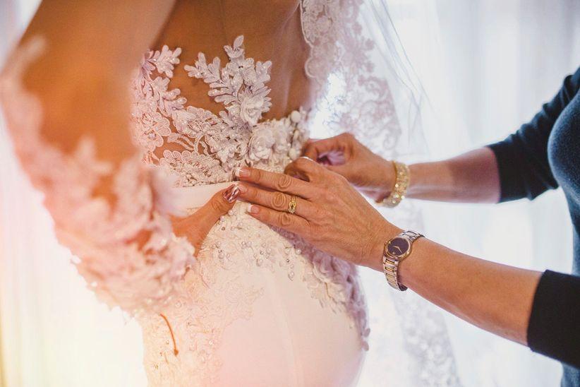 Significado de vestido de novia y accesorios