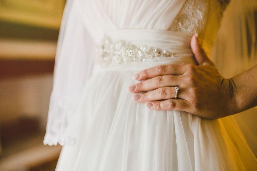 c55fa5e94a 45 vestidos de novia que te harán ver más delgada  la dieta está en ...