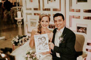 ¿Tener un dibujante en la boda? El recuerdo más artístico