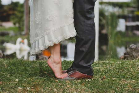 70 fotos de los pies de los novios ¡listos para dar el gran paso!