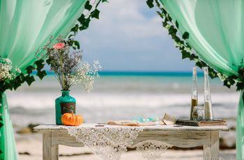 5 cosas que nadie les dice sobre la elección de los colores de su boda