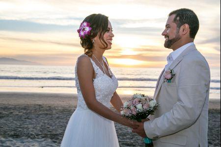 Una gran sorpresa y mucha emotividad en la boda de Andrés y Judyth