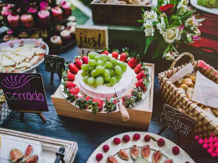 10 estaciones de comida para boda: se cocina el coctel más ...