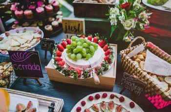 10 estaciones de comida para boda: se cocina el coctel más delicioso