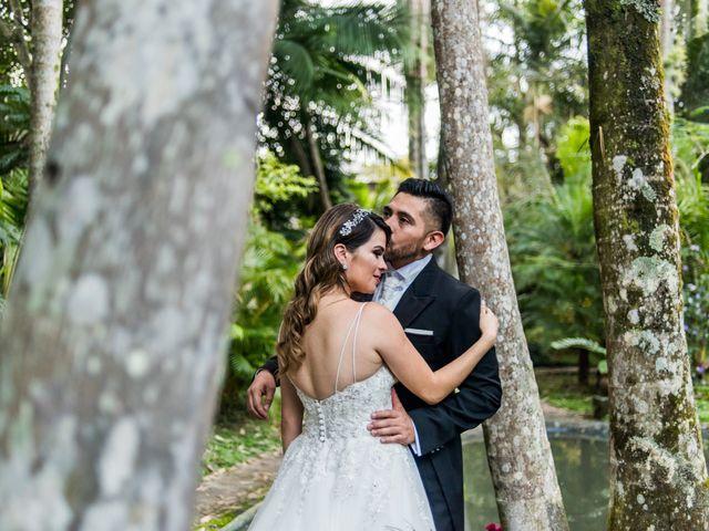 Un amor que comienza en el gimnasio: la boda de Rafa y Cris