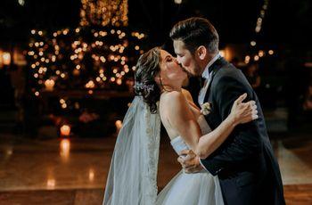 8 ideas sensacionales para la foto del beso de los novios