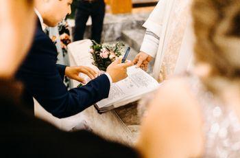 Testigos de la boda católica: ¿reúnen todos los requisitos?