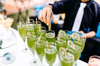 12 cocteles sin alcohol... pero con mucho sabor