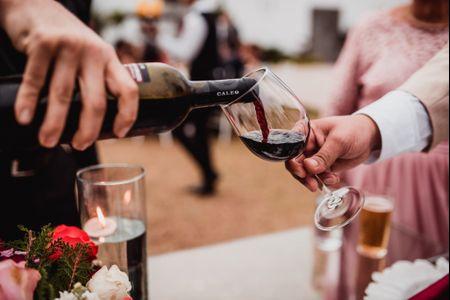 Cómo calcular la bebida para la boda sin ahogarse en las cifras