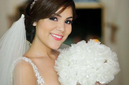 Maquillaje natural para la novia