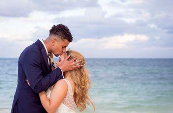 Un amor que traspasa fronteras: la boda de Chris y Vicky