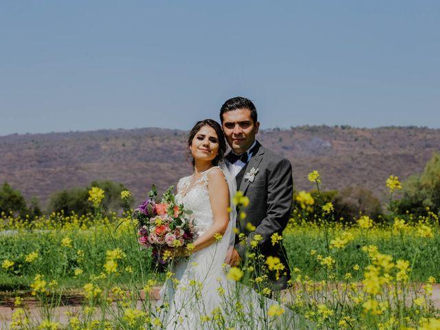 La boda de Sandra y Alejandro: un amor a fuego lento