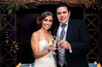 La boda de Alejandro y Gabriela: una aventura que apenas comienza