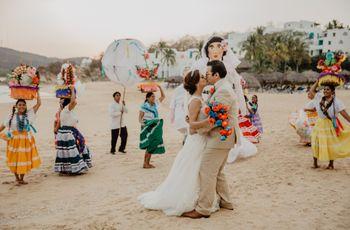 ¿Boda destino en Oaxaca? Calendas, mezcal ¡y mucho corazón!