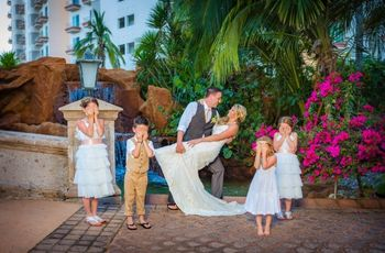 La tradición de llevar a la novia en brazos la noche de bodas