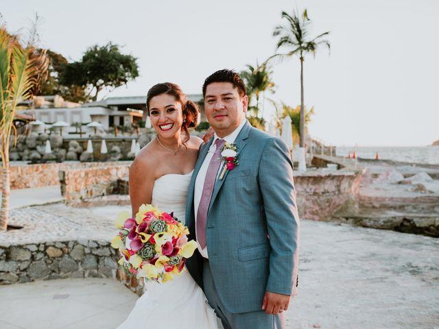 La boda de Irving y Fabiola con espectaculares vistas en Acapulco