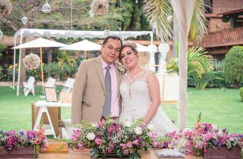 La boda de Andrés y Liliana: una organización fugaz