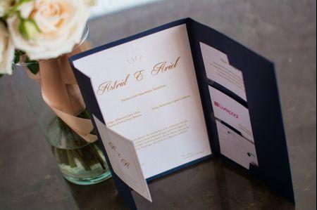 Cómo elegir las invitaciones de boda en 5 pasos