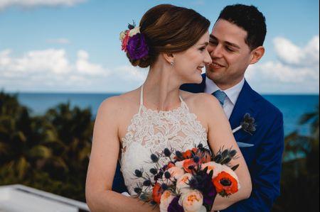 ¿Qué colores son los mejores para su boda? ¡Descúbranlo!