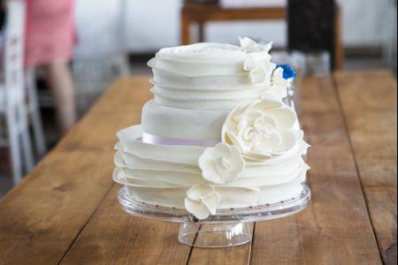50 imágenes de pasteles de boda que les encantarán